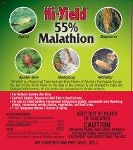 Label 32028 55 Malathion Approved 4-29-13 (213 KB) - Fertilome