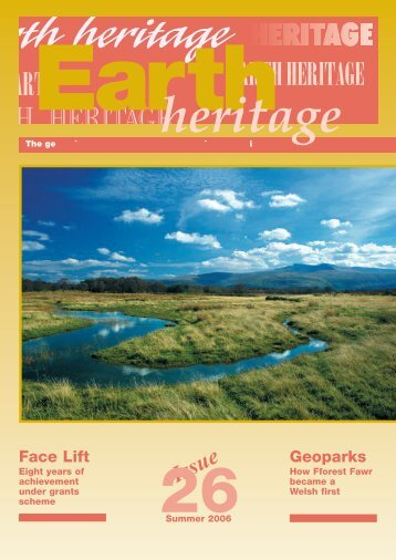 Earth Heritage Issue 26 - Wrexham County Borough Council