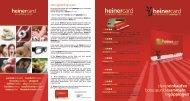 Flyer Heinercard 2012 - göppingercity eV / heinercard