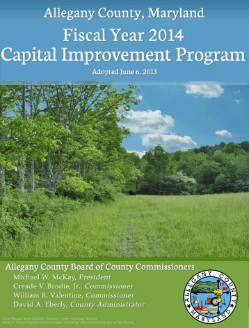 Fiscal Year 2014 Capital Improvment Program - Allegany County ...