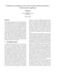 l'utilité espérée algébrique - DeSIR - LIP6