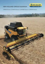NEW HOLLAND CR9OOO ELEVATION
