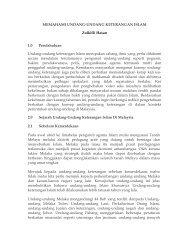 MEMAHAMI UNDANG-UNDANG KETERANGAN ISLAM Zulkifli ...