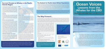 Lessons from the Whales for the CBD - WhaleResearch.org