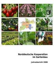 Jahresbericht 2008 - Norddeutsche Kooperation im Gartenbau