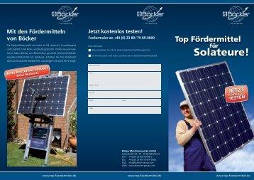 Flyer-Photovoltaik - Albert Böcker GmbH & Co. KG
