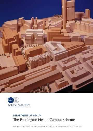 Department of Health: The Paddington Health Campus Scheme