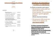 STORIA ECONOMICA e STORIA D'IMPRESA - Centro Studi Ettore ...