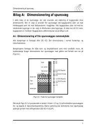 Bilag A: Dimensionering af spunsvæg - It.civil.aau.dk