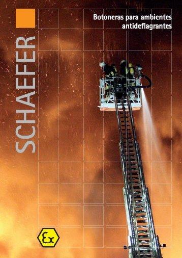 Botoneras para ambientes antideflagrantes - SCHAEFER