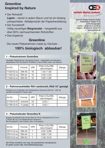 Greenline - Oechsle Display Systeme GmbH
