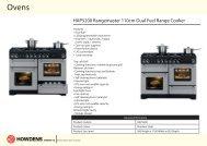 HAP5200 Rangemaster 110cm Dual Fuel Range Cooker