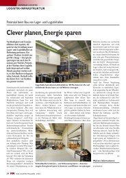 Clever planen, Energie sparen