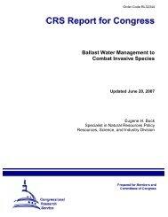 Ballast Water Management to Combat Invasive Species - Aquatic ...