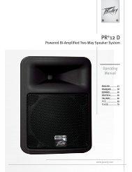 PR® 12D - Peavey