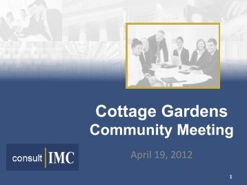Cottage Gardens - The Municipal Housing Authority for the City of ...
