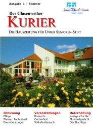 Der Glasenweiher - Jean-Paul-Verein Bayreuth