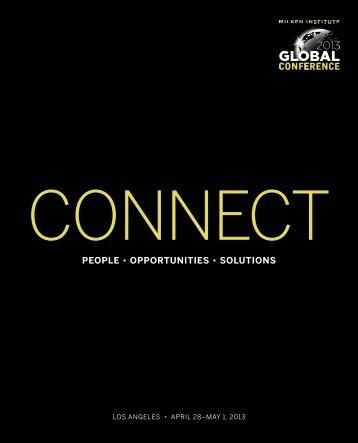 Global Conference Brochure - Milken Institute