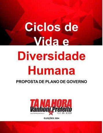 Ciclos de Vida e Diversidade Humana - WordPress.com