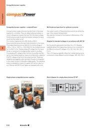Unregulated power supplies Unregulated power supplies
