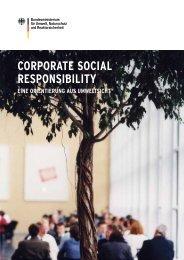 BMU-Broschüre: Corporate Social Responsibility - Eine Orientierung ...