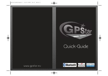 Quick-Guide:Layout 1.qxd - GPStar