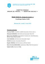Insertion sociale - Conseil général du Val-de-Marne
