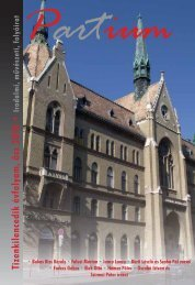 Tizenkilencedik évfolyam, ősz 2010 • - Unitárius tudás-tár