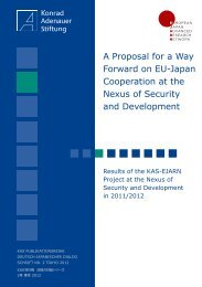 A Proposal for a Way Forward-2012.indd - Konrad-Adenauer-Stiftung