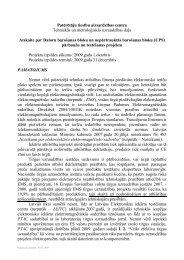 Patērētāju tiesību aizsardzības centra Tehniskās un ... - Par PTAC