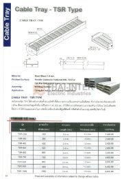 Cable Tray Cable Tray - TSR Type