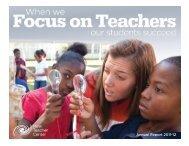 2012 Annual Report - New Teacher Center