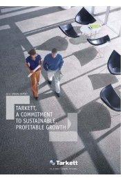 Tarkett Annual Report 2011