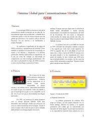 Sistema Global para Comunicaciones Móviles
