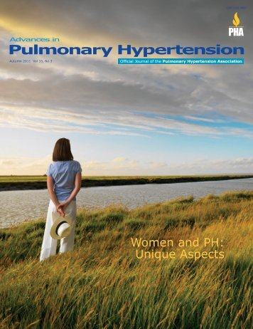 Women and PH: Unique Aspects Fall 2011 - PHA Online University