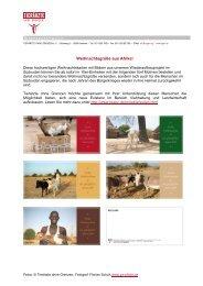 BUNDESGESCHÄFTSSTELLE - Tierärzte ohne Grenzen eV