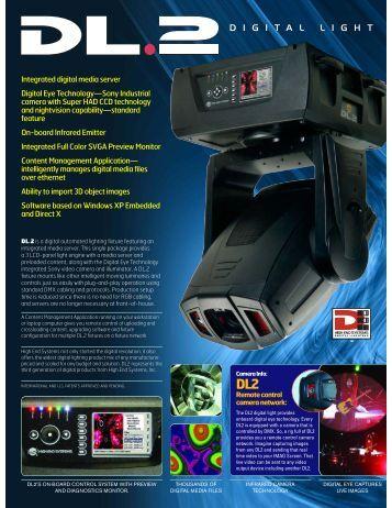 High End DL2 Digital Light - Alternative Video Solutions, Inc.