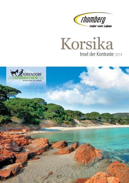 Korsika 2013.indd - Rhomberg Reisen