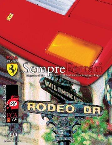Volume 13 Issue 3 - May/June 2006 - Ferrari Club of America ...