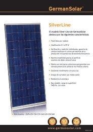 Datos - German Solar
