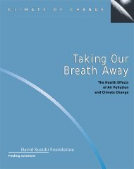The Health Effects of Air Pollution and Climate Change (PDF)