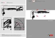 Technische Daten HIAB XS 322