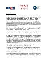 Piazza di Siena 2011 -cartella stampa - Unire
