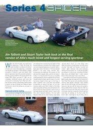 Series 4 Spider - Alfa Romeo Owners Club