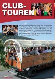 Clubtouren - Anton Graf GmbH Reisen & Spedition