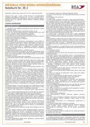 Mājokļu visu risku apdrošināšanas noteikumi 3E-2 - BTA