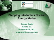 Activating the India Nuclear Energy Market Opportunity