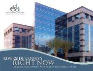 right now - Riverside County Economic Development Agency