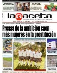 José Fco. Uribe Puente | Del 3 - SEMANARIO LA GACETA