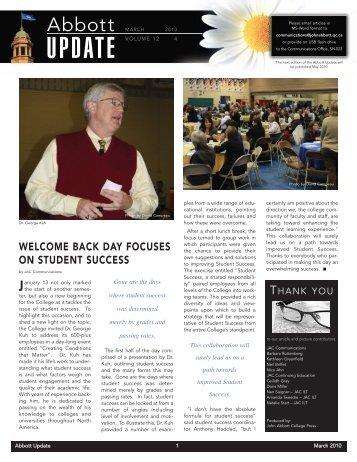 March 2010 - John Abbott College